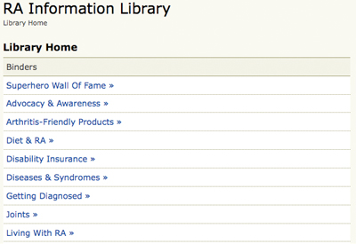 RA Information Library