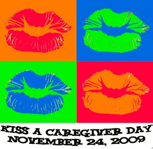 Kiss A Caregiver Day